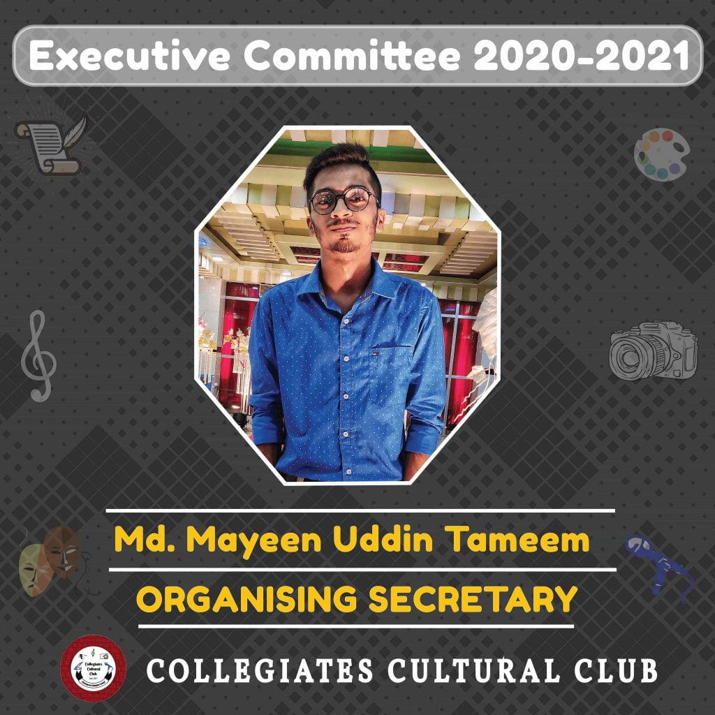 Md. Mayeen Uddin Tameem